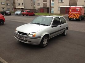hi for sale is my ford fiesta 1.3 MOT till september 2017 with no advisories