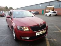 SKODA OCTAVIA 1.4 TSI ELEGANCE 5DR DSG Auto (red) 2013