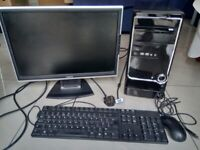 REDUCED TO CLEAR Computer Bundle with monitor, keyboard and mouse