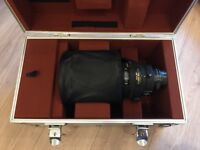 Nikon Nikkor AF-I 300mm f/2.8 D lens with all accessories - mint condition