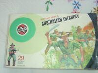 Airfix military series Australian infantry.