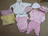 Tiny Baby Clothes Bundle