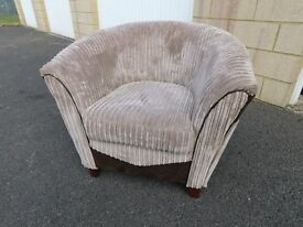 DFS Bexley Bucket Style Armchair, Free Delivery Possible
