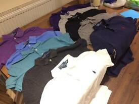 Ralph Lauren Polo shirts BUNDLE
