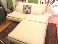 IKEA Sofa and foot stool for sale
