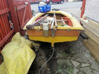 Project Sail Boat with Trailer