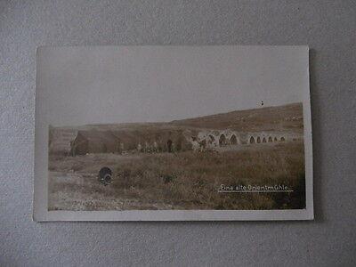 Alte Orientmühle mit Soldaten Türkei Syrien Palästina? Front Krieg Osmanen