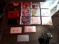 Nintendo DS (x4) + games, chargers, accesssories, etc.