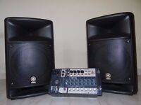 Yamaha Stagepas 500 PA System (Stagepass) 500W. Happy to send by courier.