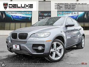 2011 BMW X6 xDrive35i X6 NAVIGATION 3D CAMERA FACTORY WARRANT...