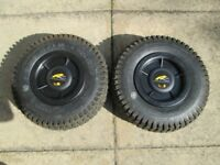 POWAKADDY ROBOKADDY PNEIMATIC AIR TYRES GREAT CONDITION.