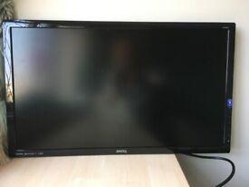 Broken BenQ GL2760-T GL2760H 27 Inch LCD LED Backlit Monitor *** LCD Panel Broken *** For parts only