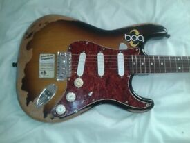 Stratocaster - Roadworn with 57/62 or Lace Gold pickups