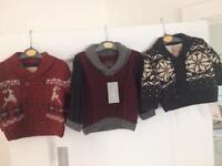 Brand new cardigans/jumpers