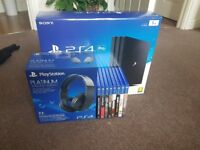 Ps4 pro extras!!!