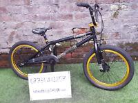 "Age 7+, Voodoo Joe Murray BMX, 20"" wheels, Tektro brakes. VVGC"