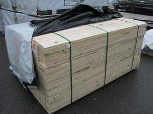 Spruce S1S2E Fence Boards 1x6 x 6 foot