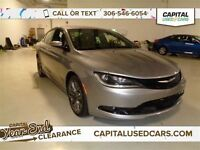2015 Chrysler 200 S *Touch Screen, Bluetooth. Navigation*