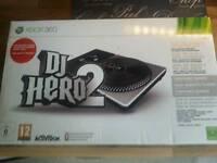 Xbox 360 dj hero 2 turn table for sale