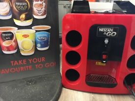 Nescafé & Go Machine and Sign