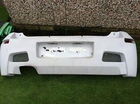 Vauxhall corsa c back bumper
