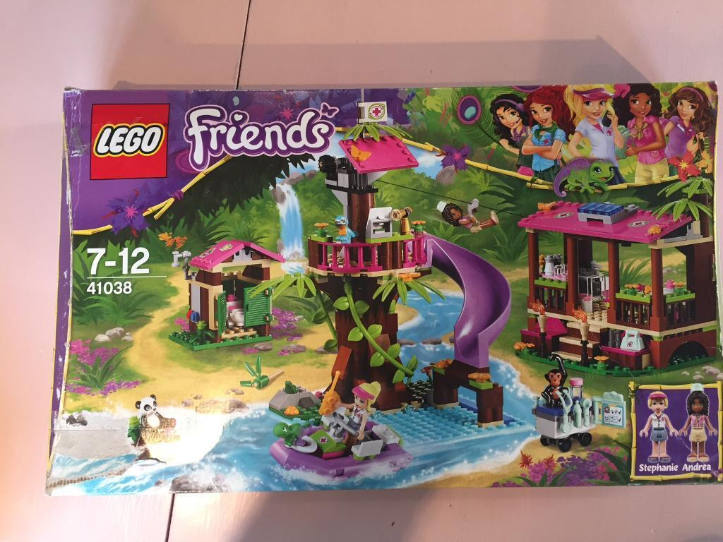 Lego friends jungle rescue set