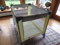 Graco travel cot , little used , good condition