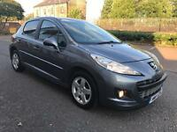 2011 PEUGEOT 207 1.4 SPORTIVE. 5 SPEED MANUAL MOT AUGUST 2018 5 DOOR SUPERB DRIVE CHEAP INSURANCE.