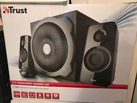 Trust subwoofer & speaker set