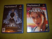 Playstation 2 Lara Croft Games