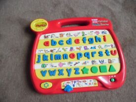 VTECH TALKING LITTLE SMART ALPHABET PHONICS TEACHER WITH MUSIC.ABC.vintage