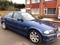 BMW 3 Series 2.2 320i SE 4dr£399 automatic -private plate 2001 (Y reg), Saloon