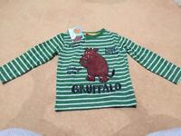 Boys Gruffalo top, size 3-4years