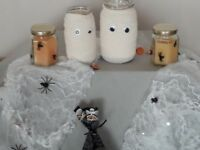 Lovely Handmade Halloween Candles