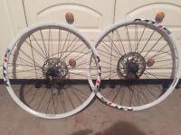 """Shimano 26"""" bike wheels"""