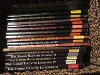 "16 Tom Siemens ""Haunted Liverpool"" books"