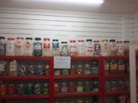 Large quantity of sweets,confectionary including sugar free.