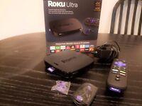 Roku Ultra 4K HDR Streaming Media Player 4640R 2016 Brand New Model [Like New].