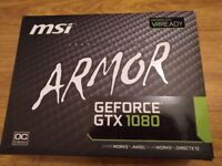 MSI GTX 1080 8GB High End Gaming Video Card