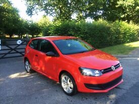 62 PLATE VOLKSWAGEN POLO 1.2 PETROL RED FULL SERVICE HISTORY 41,000 MILES EXCELLENT CONDITION