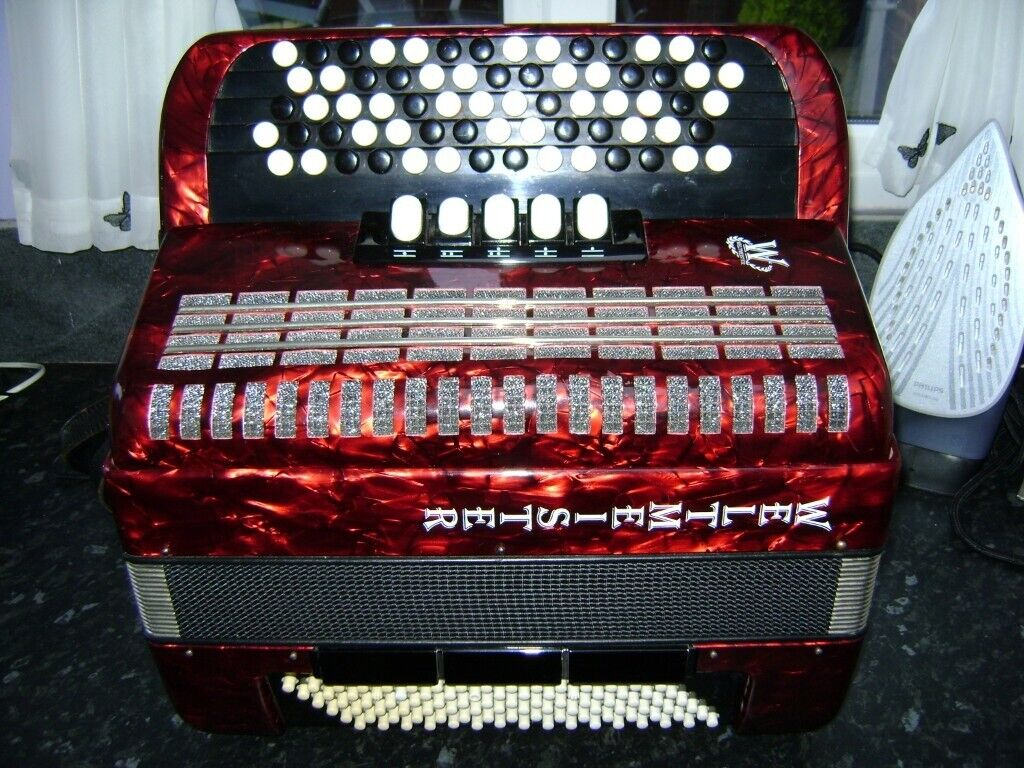 weltmeister 96 bass chromatic accordion c system | in Longbridge, West  Midlands | Gumtree
