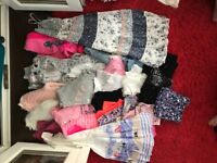 Bundle of girls clothes aged 10 to 11