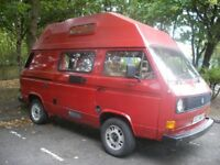 VW CAMPER T25 4 berth campervan