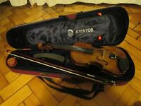 STENTOR II STUDENT VIOLIN ¾ SIZE WITH CASE, BOW, SHOULDER REST & ROSIN