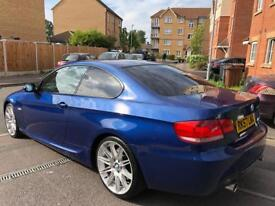 bmw 335d e92 M Sport 57 Plate Le Mans Blue F1 Paddle shift mercedes audi