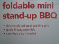 FOLDABLE BBQ IN IT'S ORIGINAL CARRY BAG