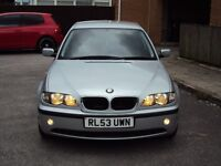 BMW 3 SERIES 318i SE 2.0 LOW MILEAGE 4DRTOP SPEC LEATHER SEATS EXTRAS SERVICE HISTORY LONG MOT £2250