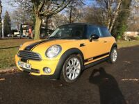 MINI COPPER 1.6 (FACELIFT MODEL) (07 PLATE) FULL LEATHER, START/STOP, XENON LIGHTS, LOTS OF EXTRAS