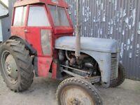 Ferguson TE20 Diesel with Winsam Cab and Rollbar