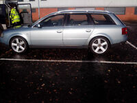 Audi A6 Estate 1.9 TDI (AWX engine PD) 2003 (Reg 52) 7 seater